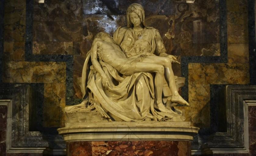 Micheangelo's Pietà, Rome, Italy