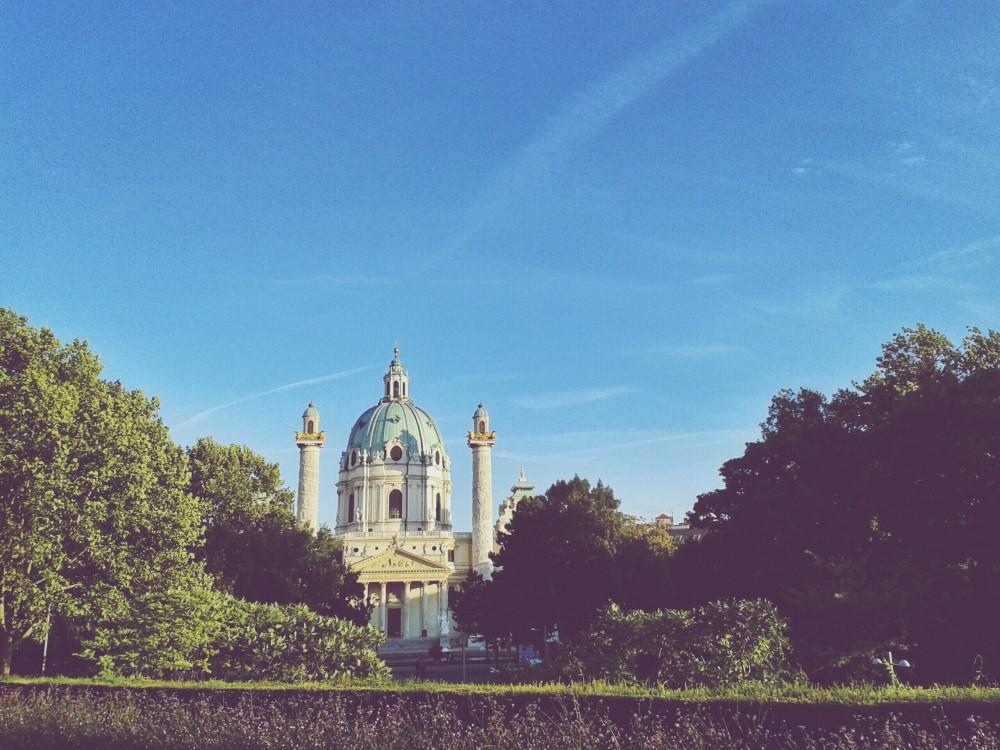 Vienna and Bratislava via Instagram