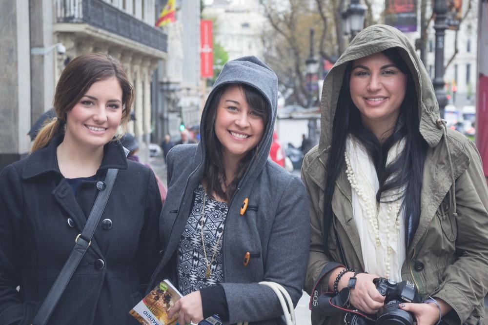 Girls getaway to Madrid, Spain