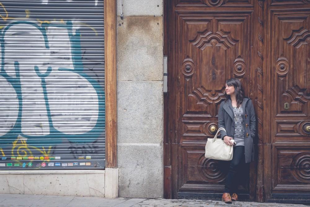Jessica of Curiosity Travels in Madrid, Spain