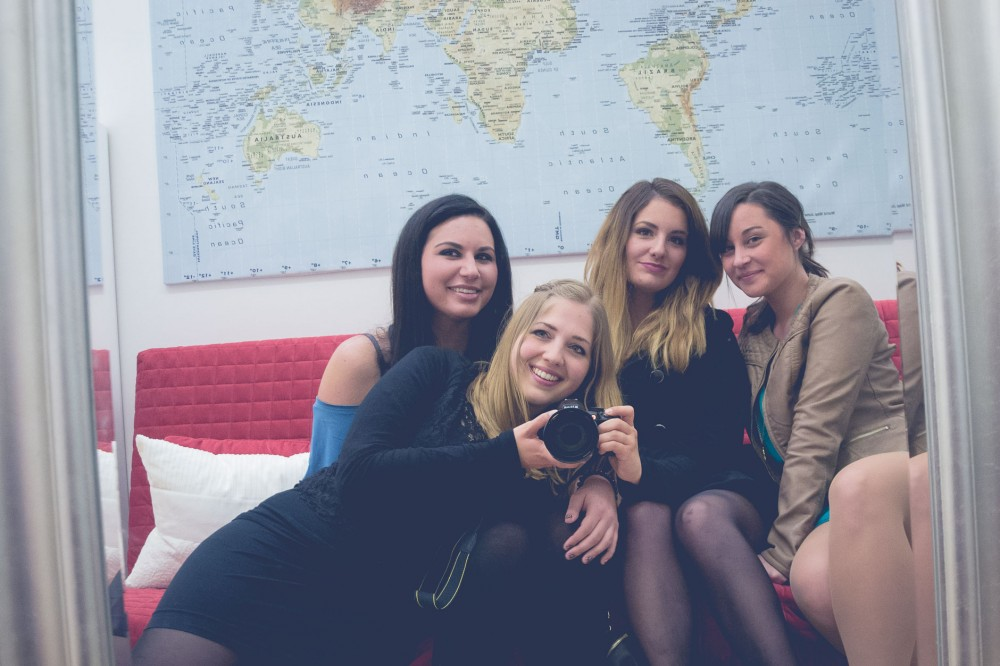 #GirlsGoneMAD in the GowithOh apartment in Madrid, Spain