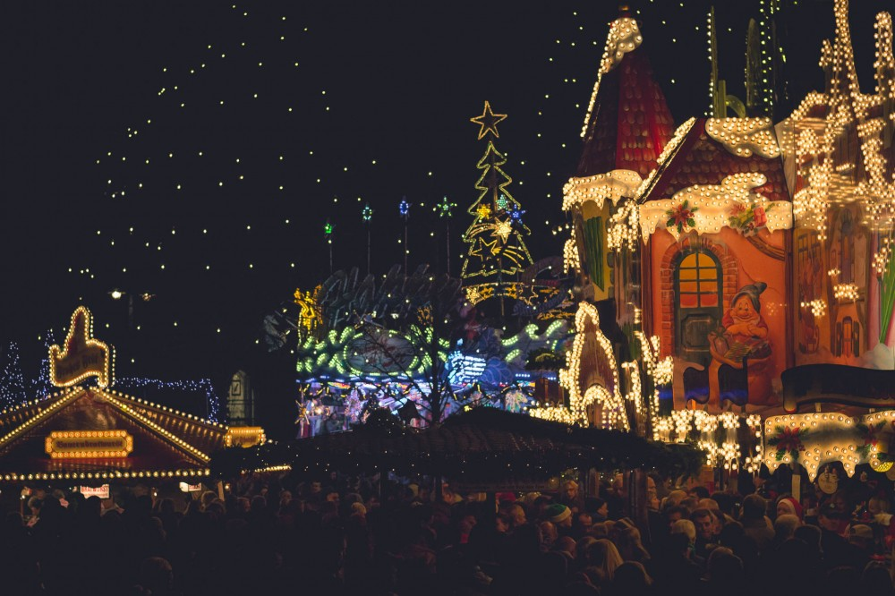Christmas market in Bremen, Germany