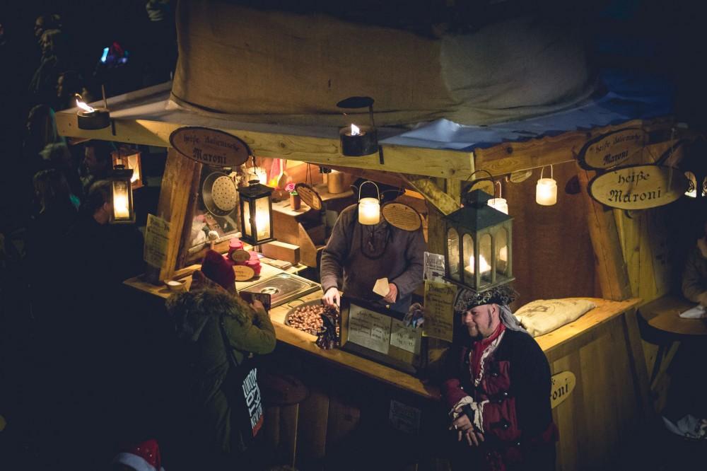 Pirates' Christmas market in Bremen, Germany