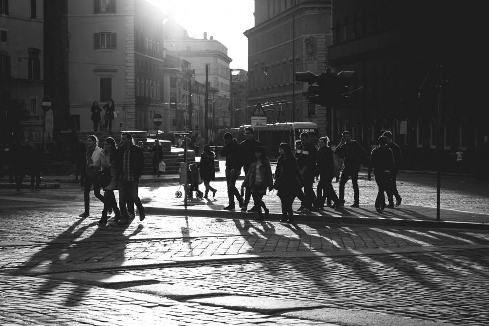 Photo Essay: Rome in Black and White