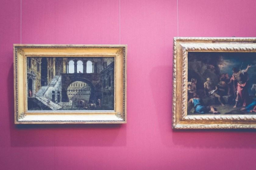 Museum scenes in Hanover, Germany