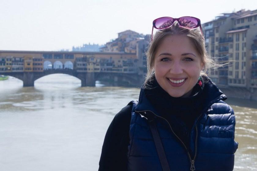 Julika in Florence, Italy