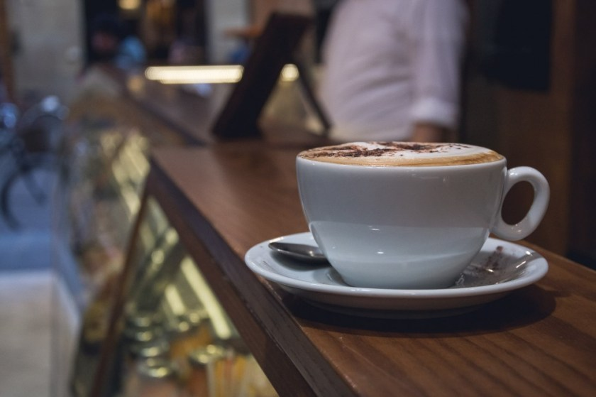 Cappuccino in Florence, Italy