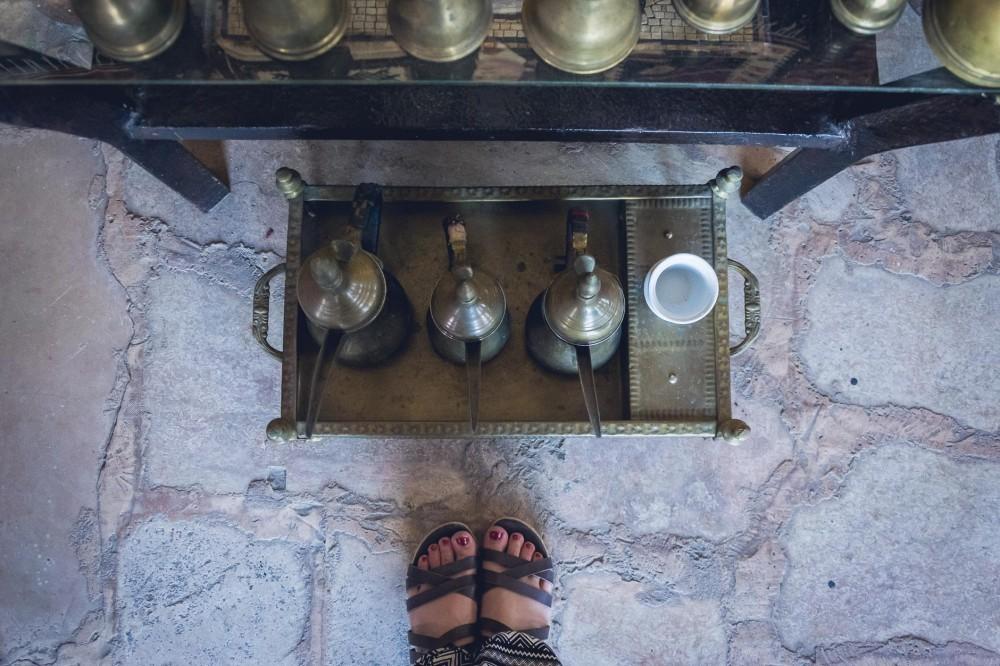 Coffee treasures in Madaba, Jordan