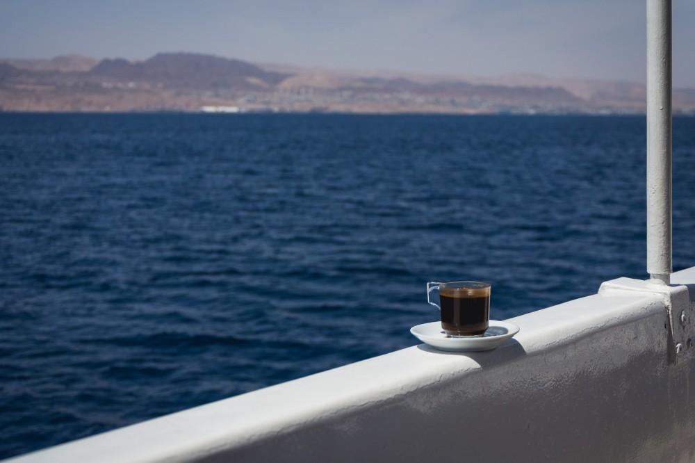 Coffee on the Red Sea, Jordan