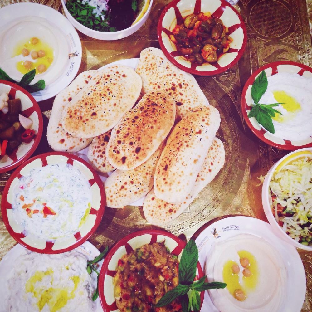 Jordanian food in Amman, Jordan