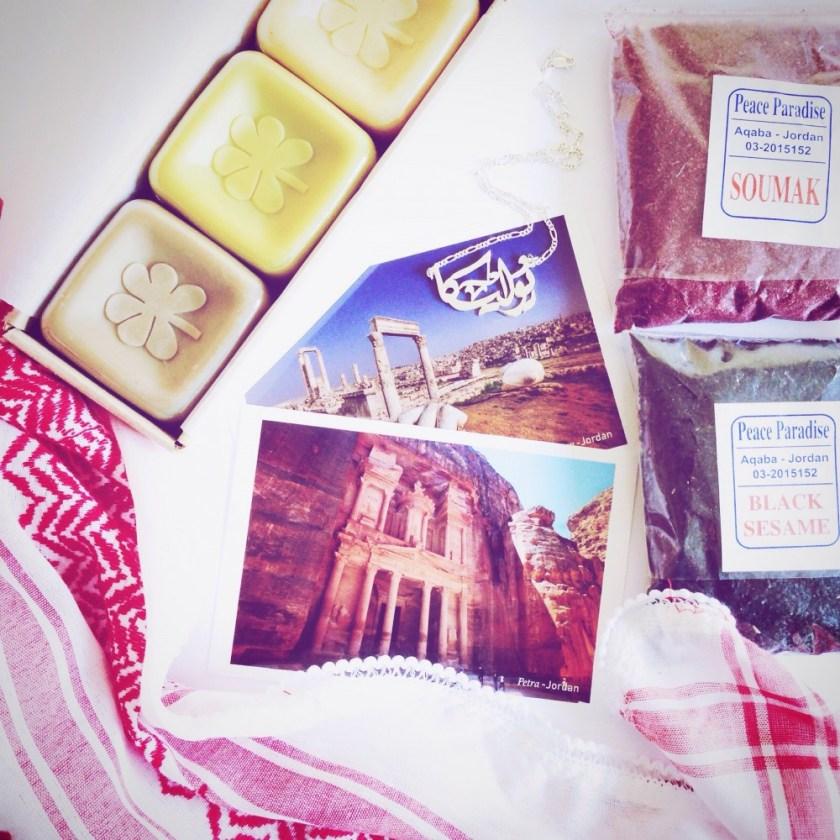 Souvenirs from Jordan
