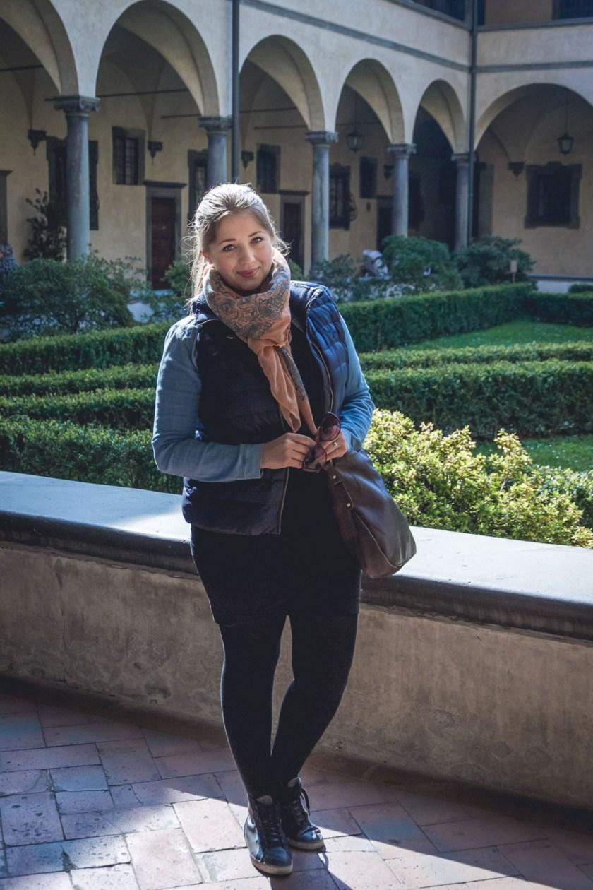 Julika in Florence