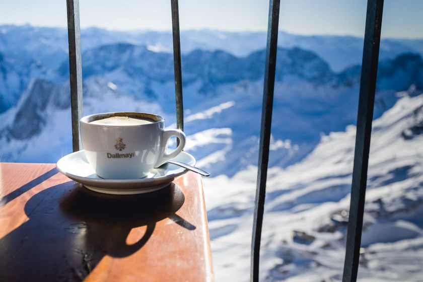Coffee on the Zugspitze