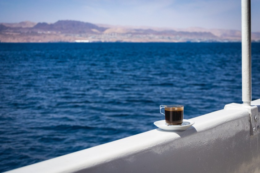 Coffee on the Red Sea