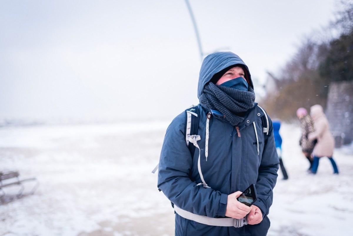Jurmala, Latvia in winter