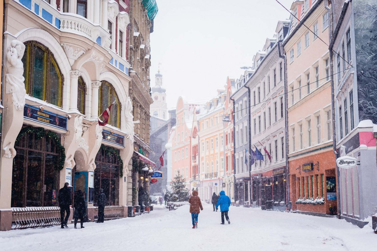 Winter Impressions from Riga, Lativa