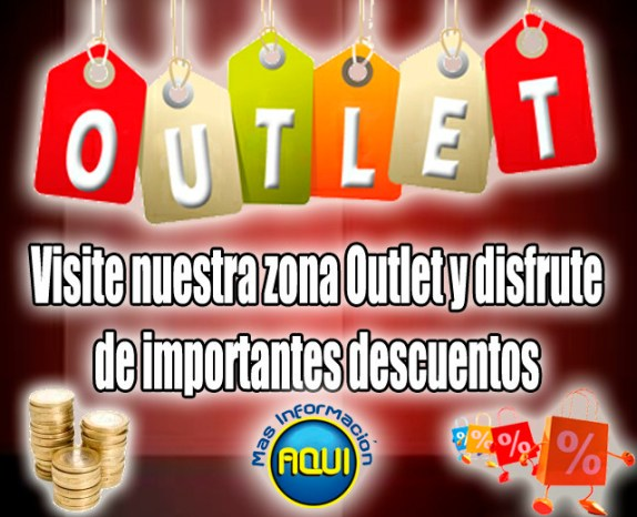 CONSULTE NUESTRO MATERIAL OUTLET