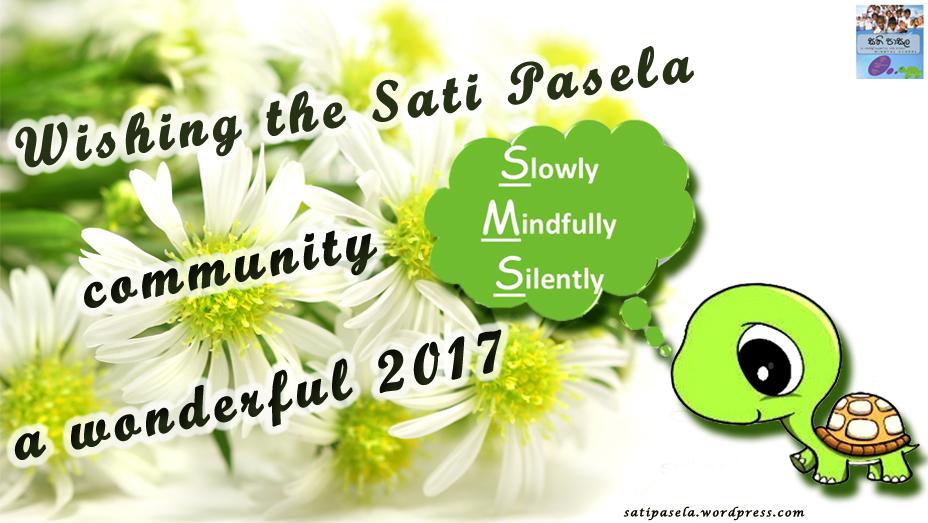 Wishing the Sati Pasela community a wonderful 2017