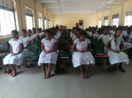 Sangamitta Balika Vidyalaya Students Practiced Mindfulness