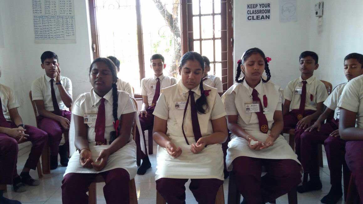 Mindfulness Program at Najaa International School, Mount Lavinia (12)