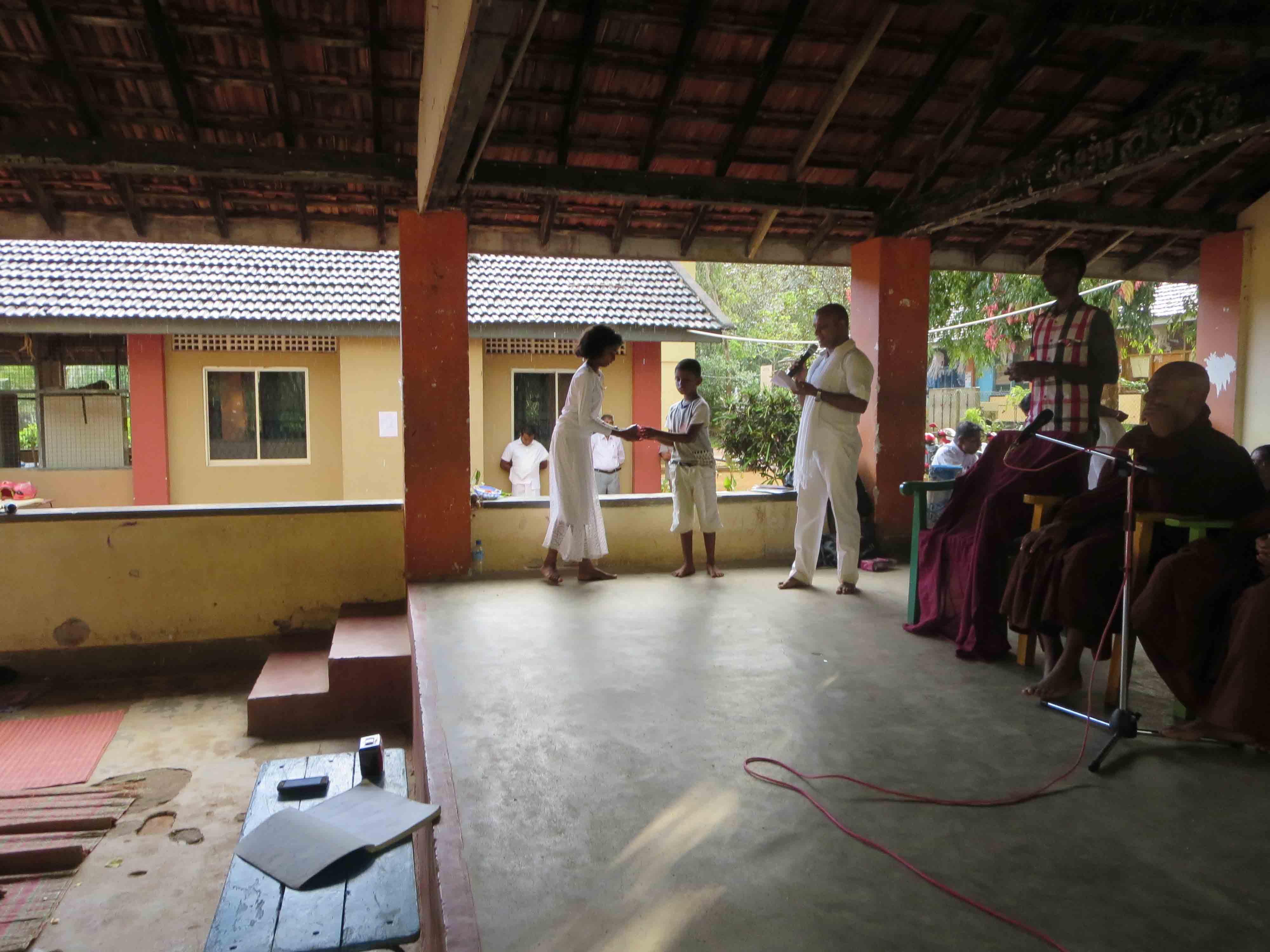 Sati Pasala Mindfulness Camp at Meethirigala Kanishta Vidyalaya