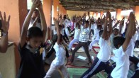 Sati Camp at Meethirigala Kanishta Vidyalaya-yoga session (2)