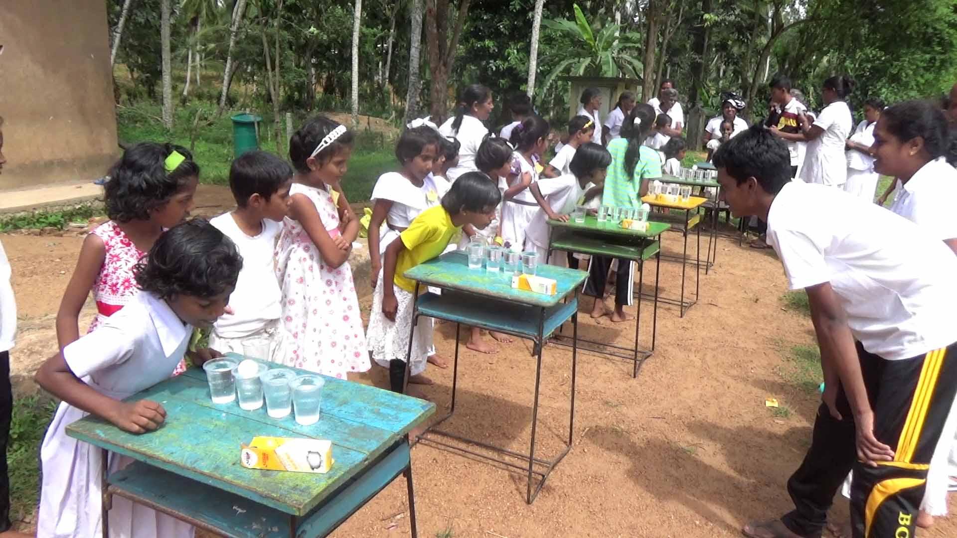 Sati Pasala Mindfulness Camp at Meethirigala Kanishta Vidyalaya-mindful games (1)