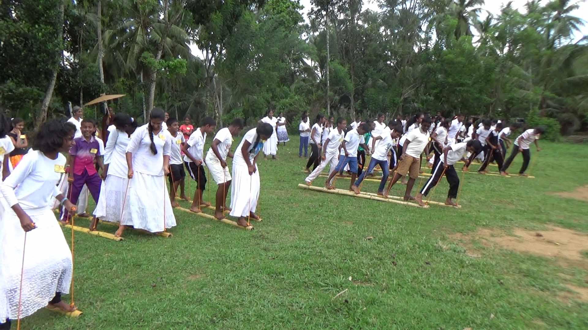 Sati Pasala Mindfulness Camp at Meethirigala Kanishta Vidyalaya-mindful games (13)
