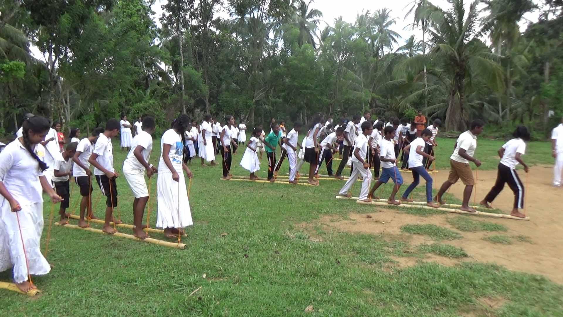 Sati Pasala Mindfulness Camp at Meethirigala Kanishta Vidyalaya-mindful games (14)