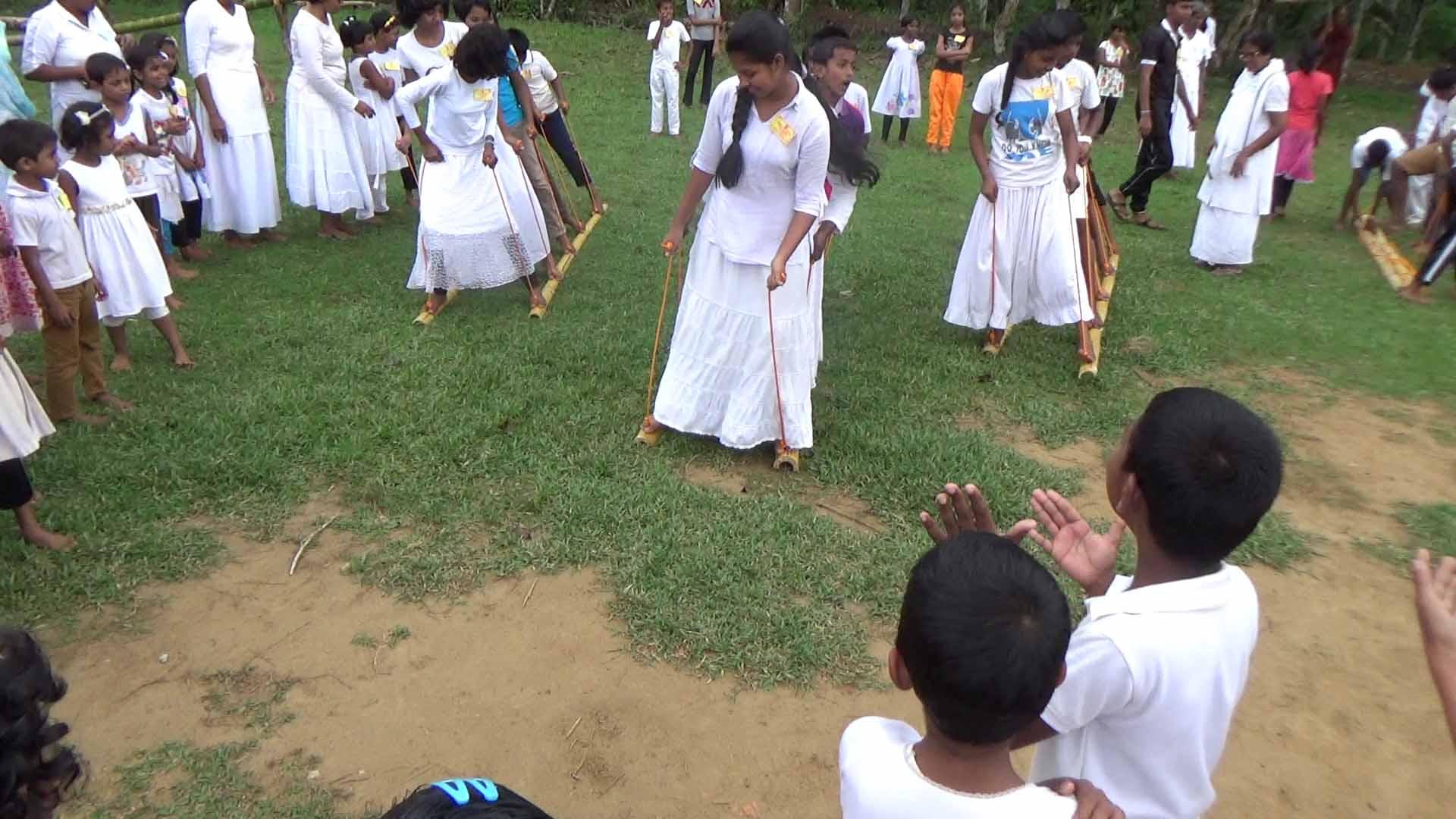 Sati Pasala Mindfulness Camp at Meethirigala Kanishta Vidyalaya-mindful games (17)