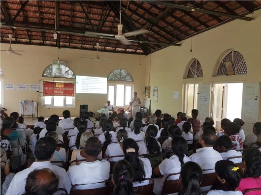 Sati Pasala programme held at YMBA building, Daulagala