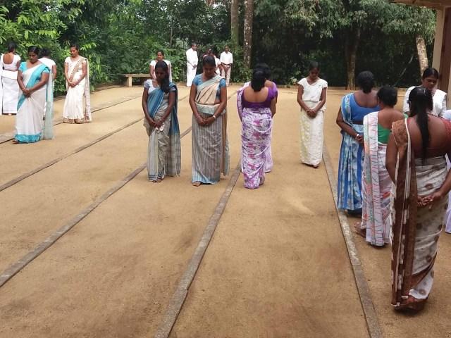 Sati Pasala-Teacher Training Program at Kamburuwawala, Palinda Nuwara