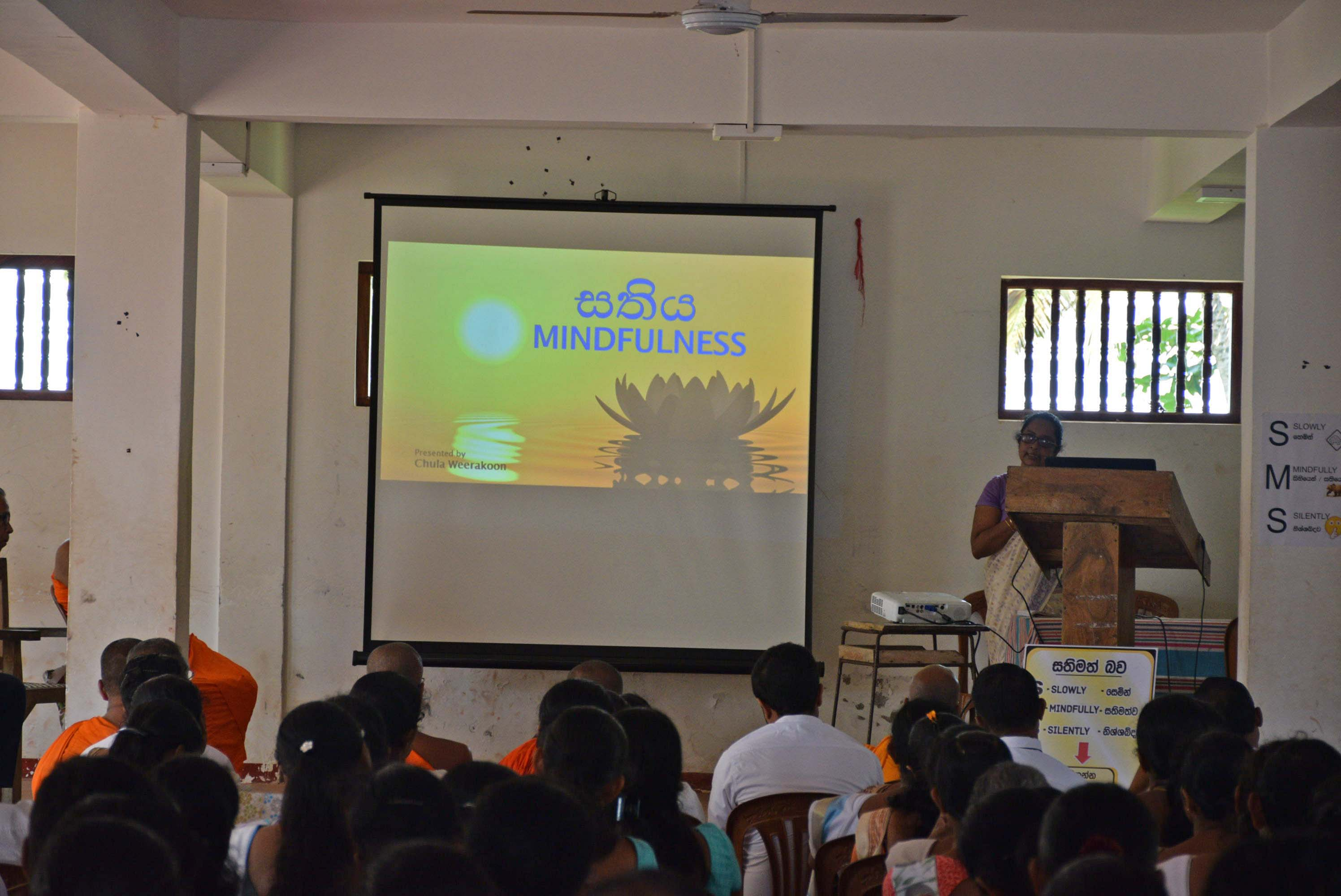 Sati Pasala Mindfulness Programe for Principals and Teachers of Southern Province (1)