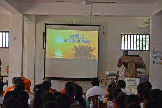 Sati Pasala Mindfulness Programe for Principals and Teachers of Southern Province (1)