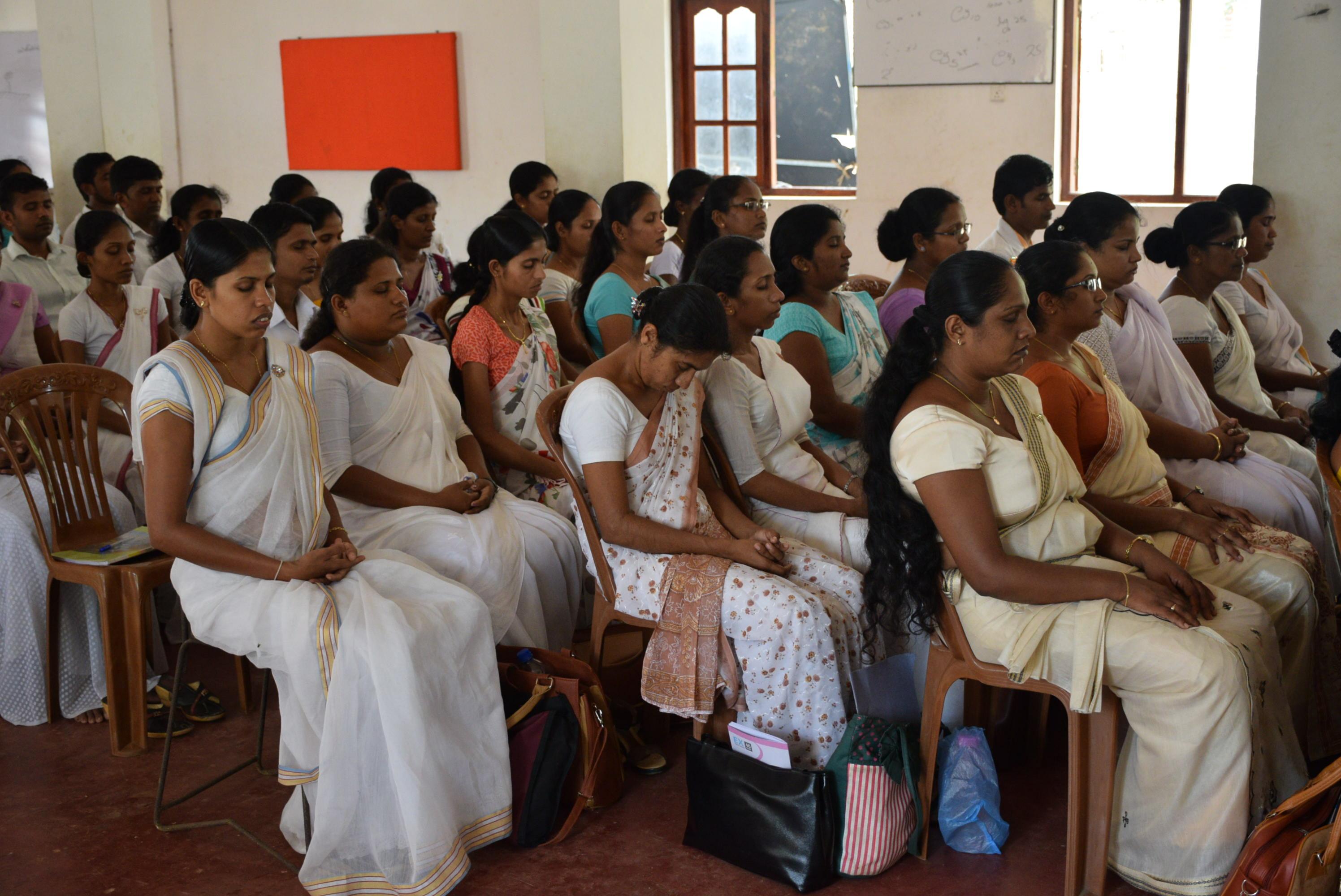Sati Pasala Mindfulness Programe for Principals and Teachers of Southern Province (16)