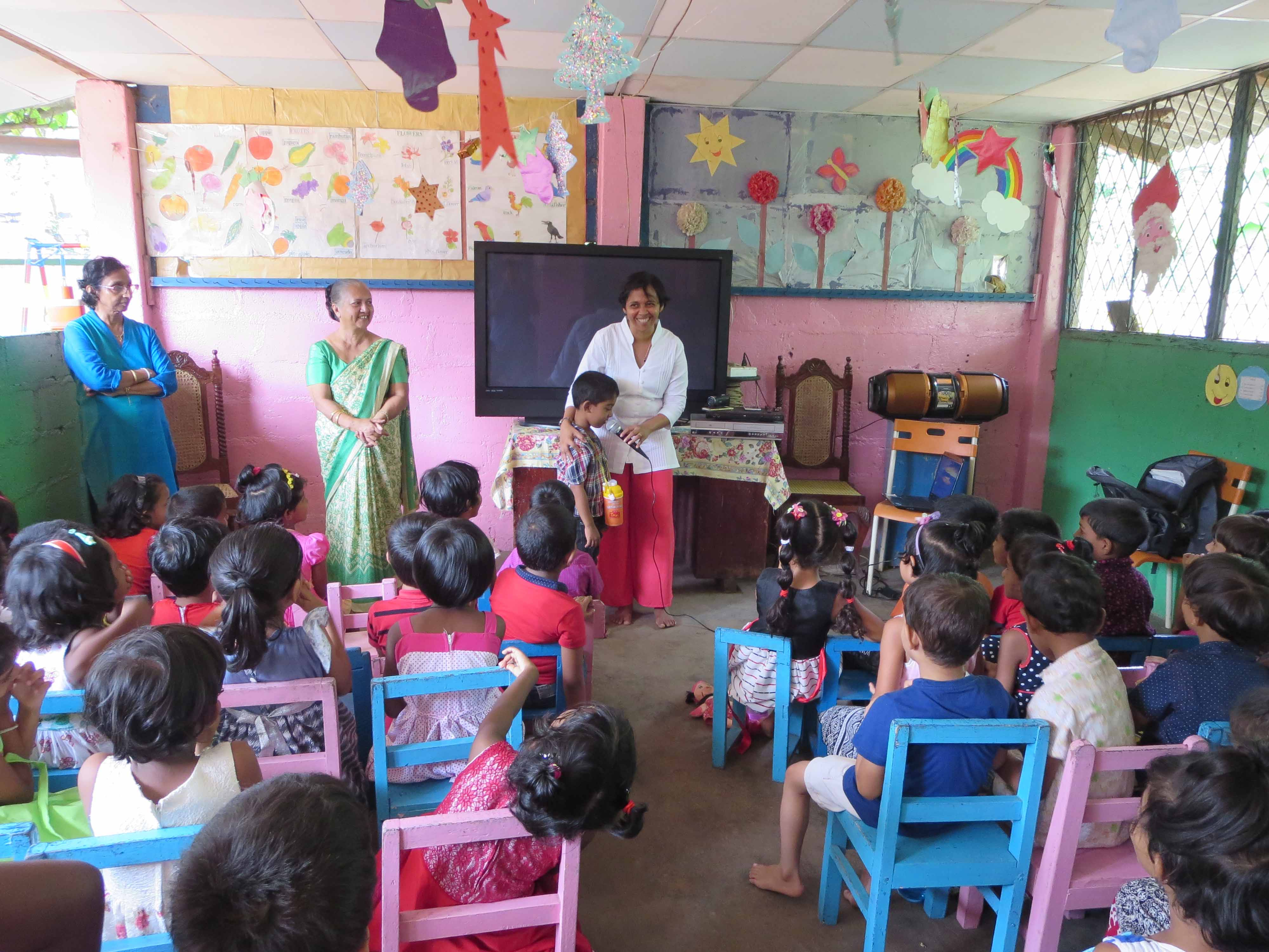 Sati Pasala Mindfulness Training Program for Visaka Pre-School Kadawatha (38)