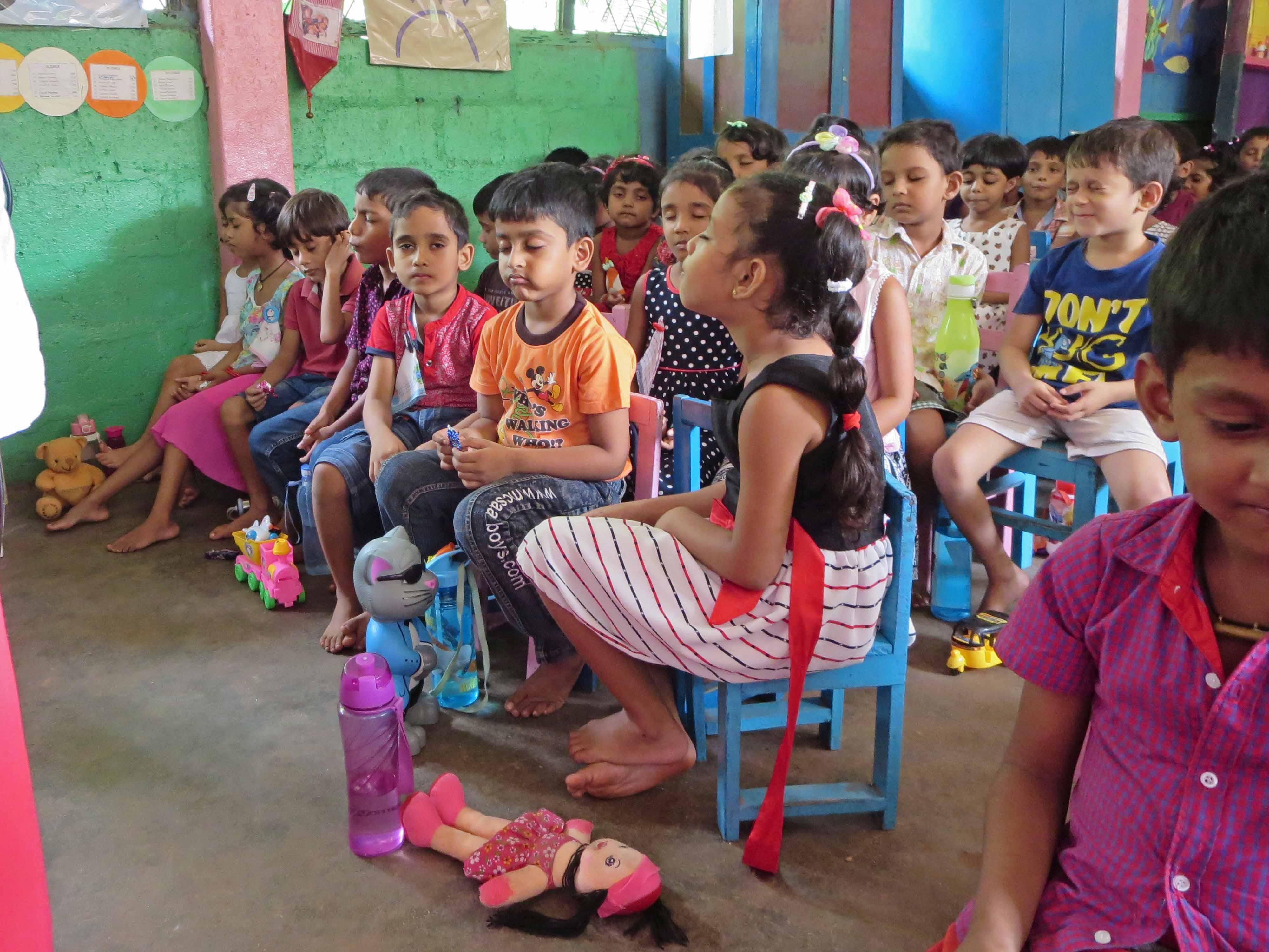 Sati Pasala Mindfulness Training Program for Visaka Pre-School Kadawatha (50)