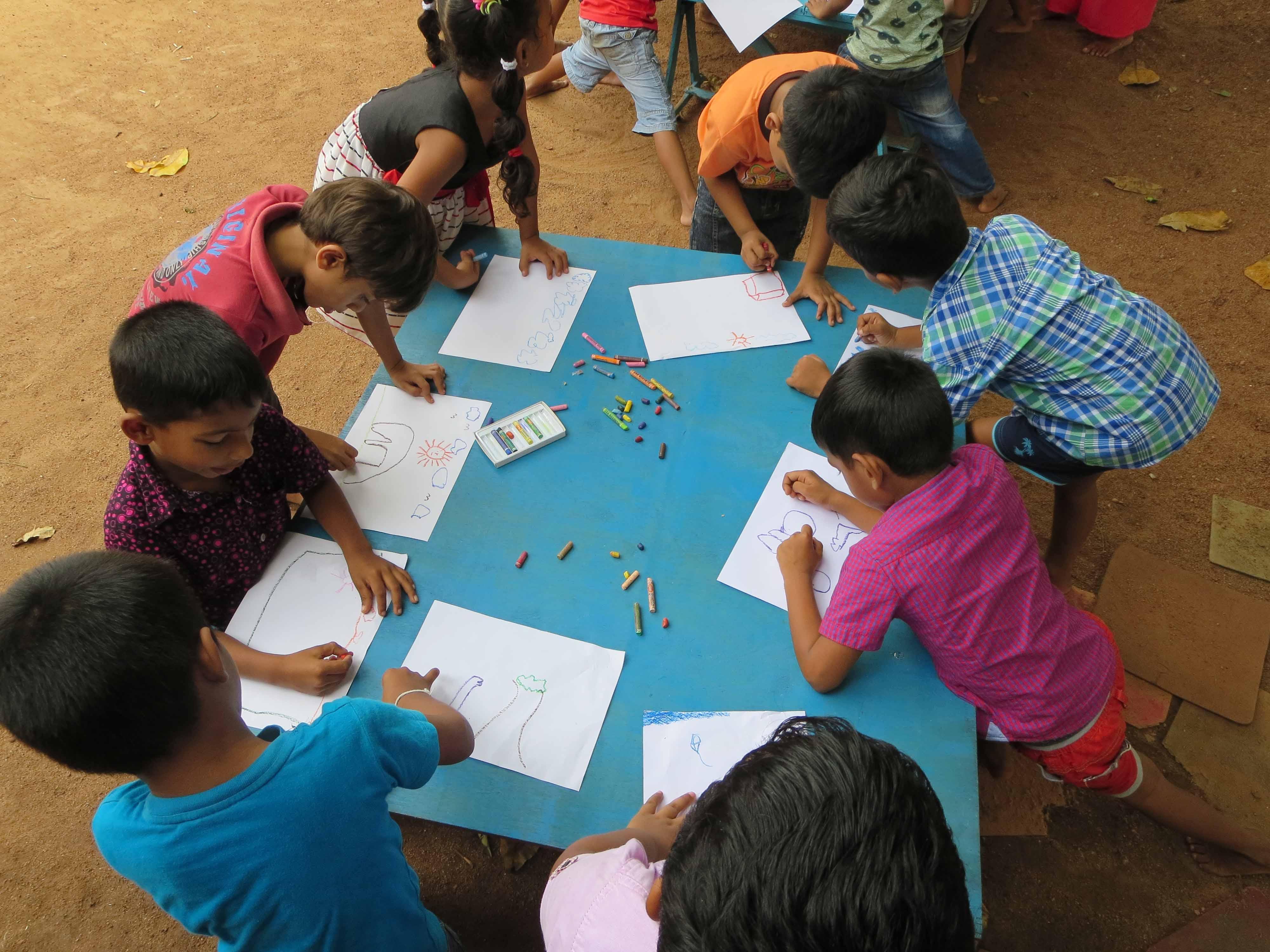 Sati Pasala Mindfulness Training Program for Visaka Pre-School Kadawatha (55)