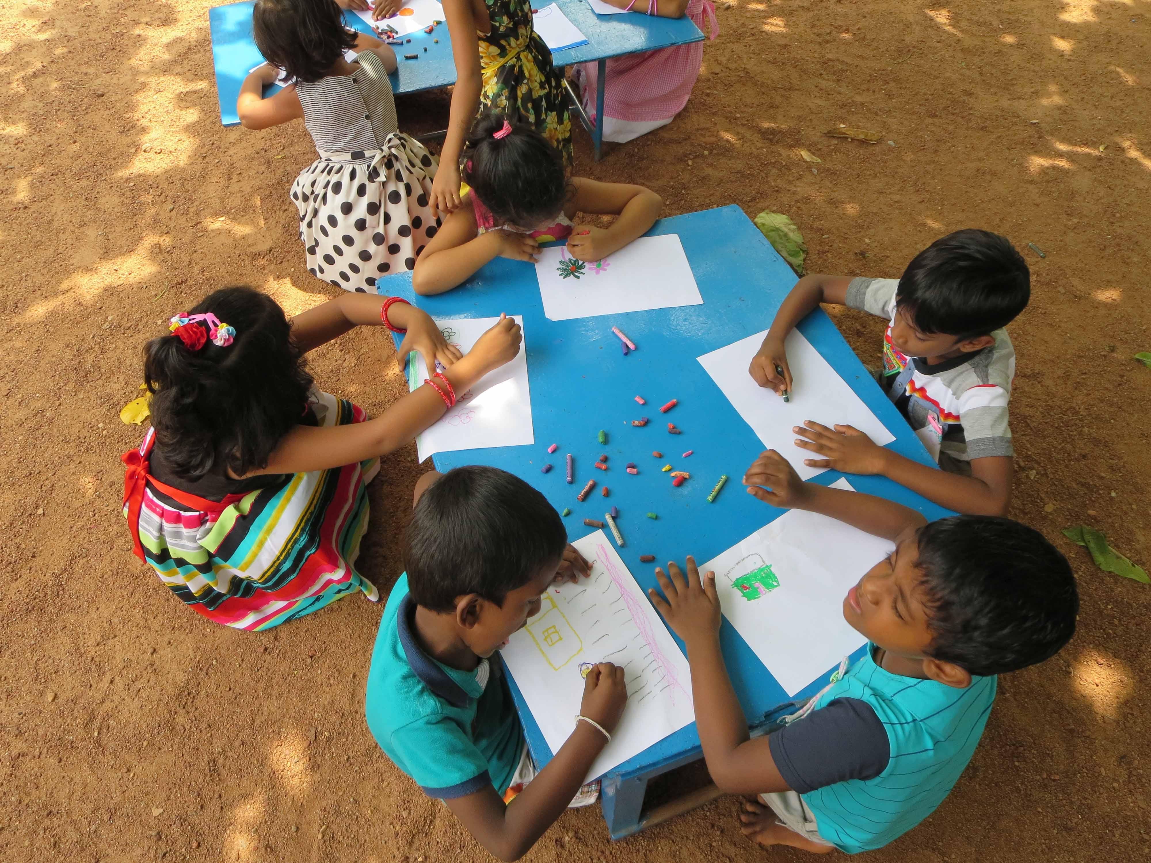 Sati Pasala Mindfulness Training Program for Visaka Pre-School Kadawatha (60)