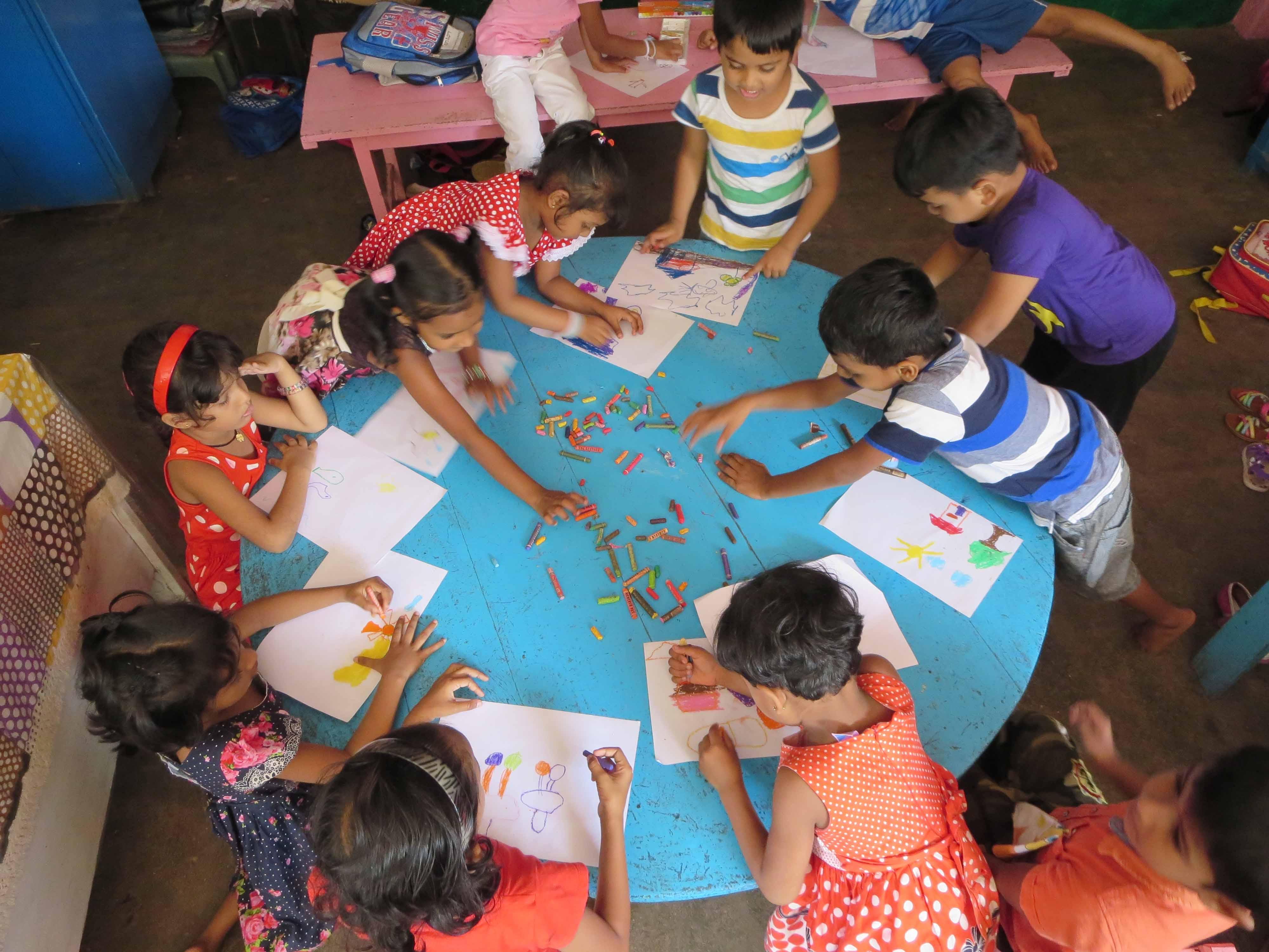 Sati Pasala Mindfulness Training Program for Visaka Pre-School Kadawatha (66)