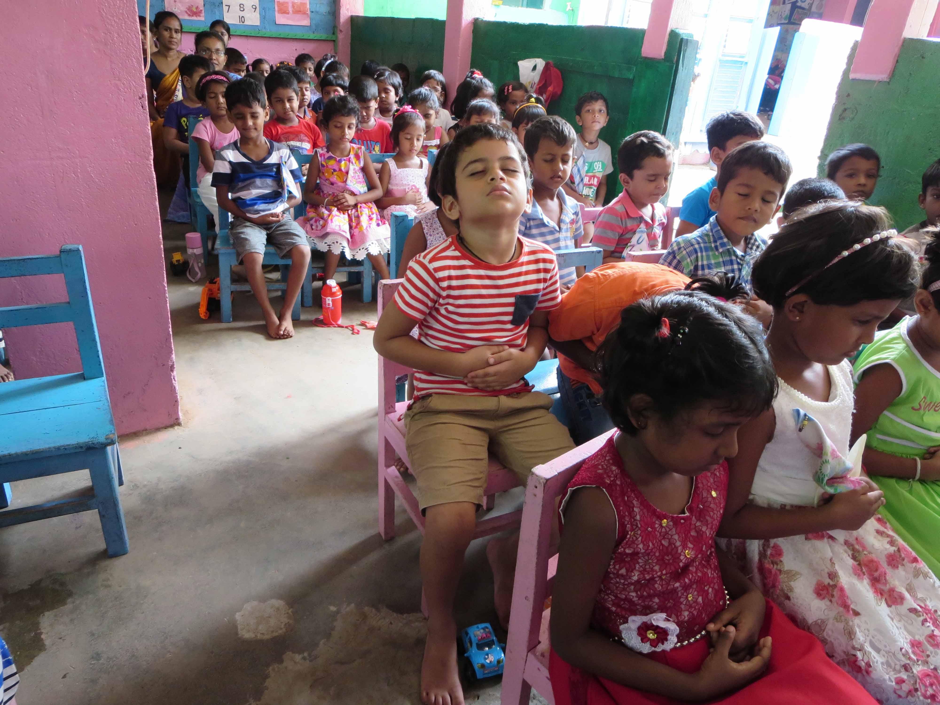 Sati Pasala Mindfulness Training Program for Visaka Pre-School Kadawatha (7)