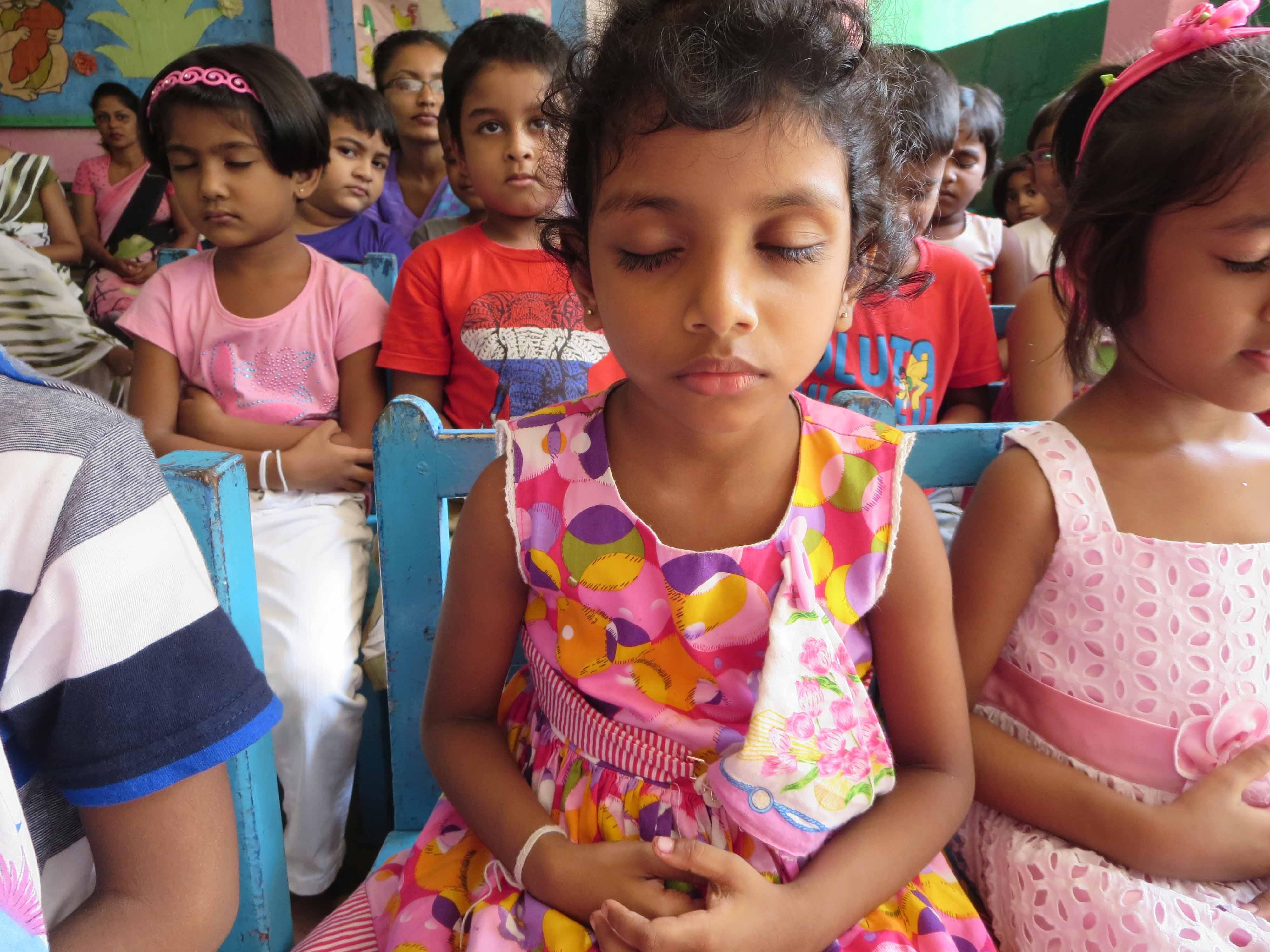 Sati Pasala Mindfulness Training Program for Visaka Pre-School Kadawatha (9)
