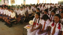 Introduction of Sati Pasala to a few schools in Balangoda (1)