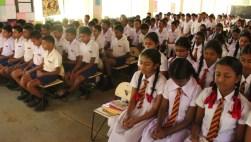 Introduction of Sati Pasala to a few schools in Balangoda (1)