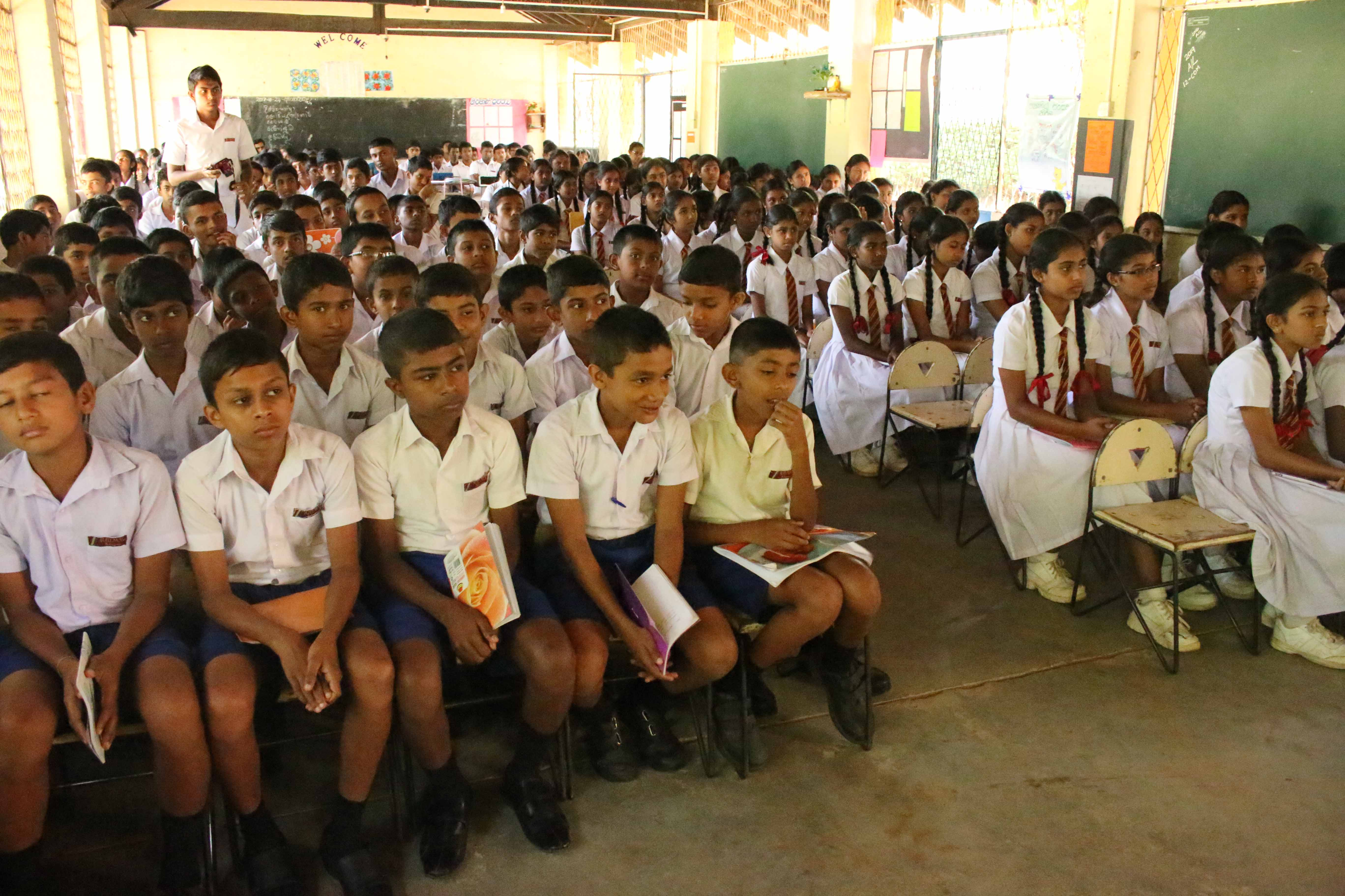 Introduction of Sati Pasala to a few schools in Balangoda (7)