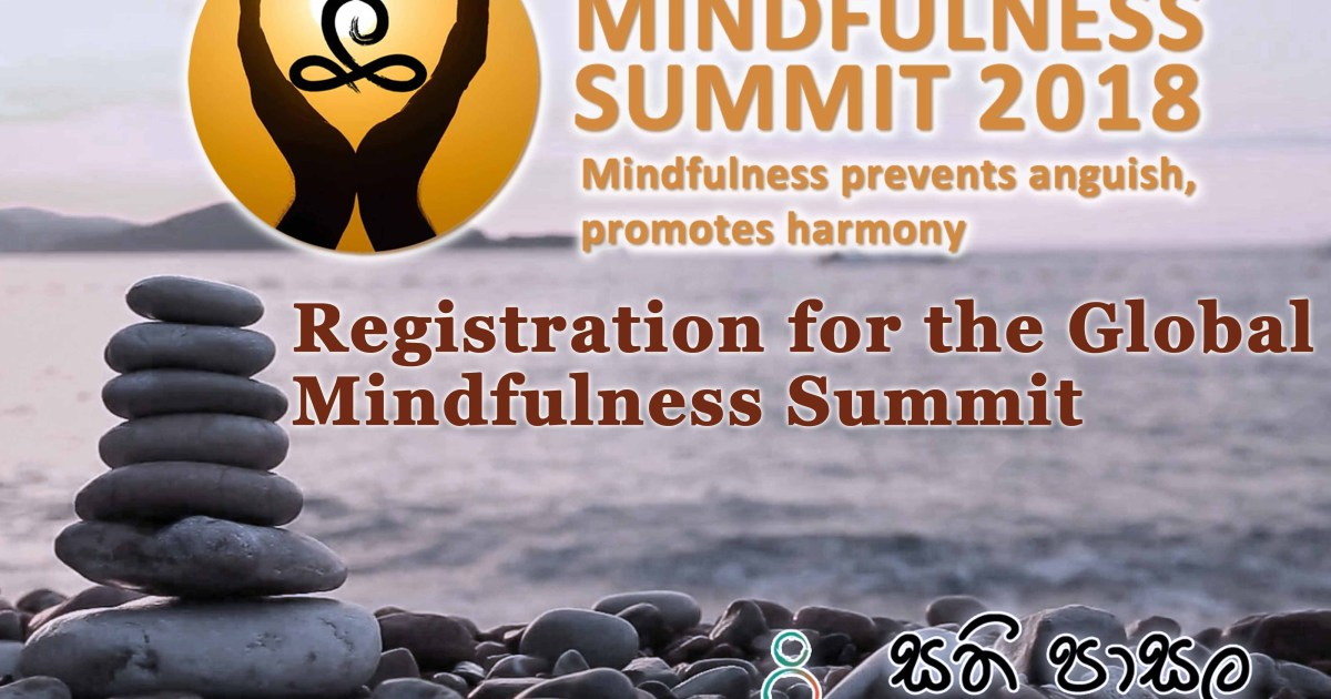Registration for the Global Mindfulness Summit