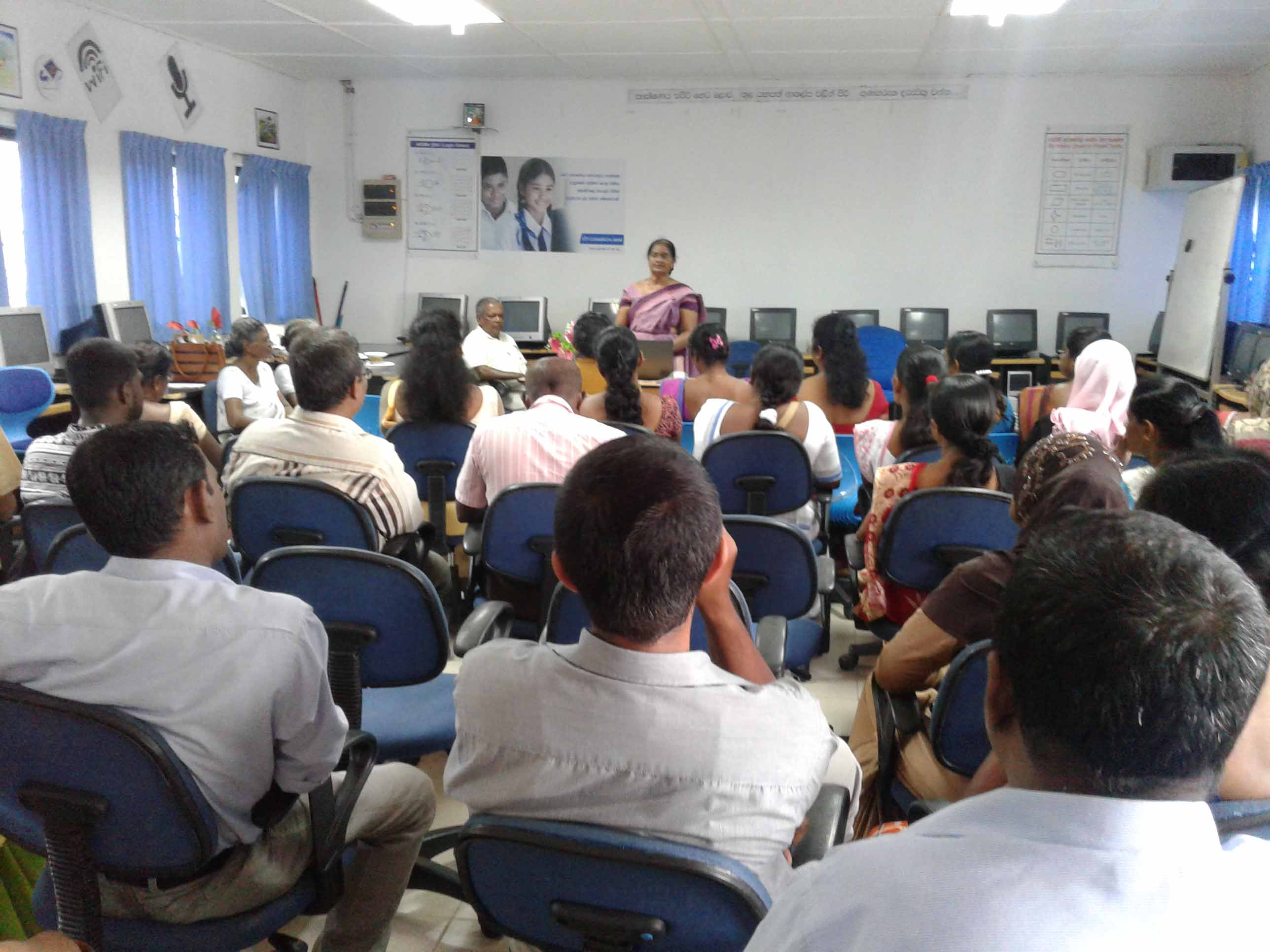Sati Pasala awareness program conducted at SUDARMA VIDYALAYA, Galle (1)
