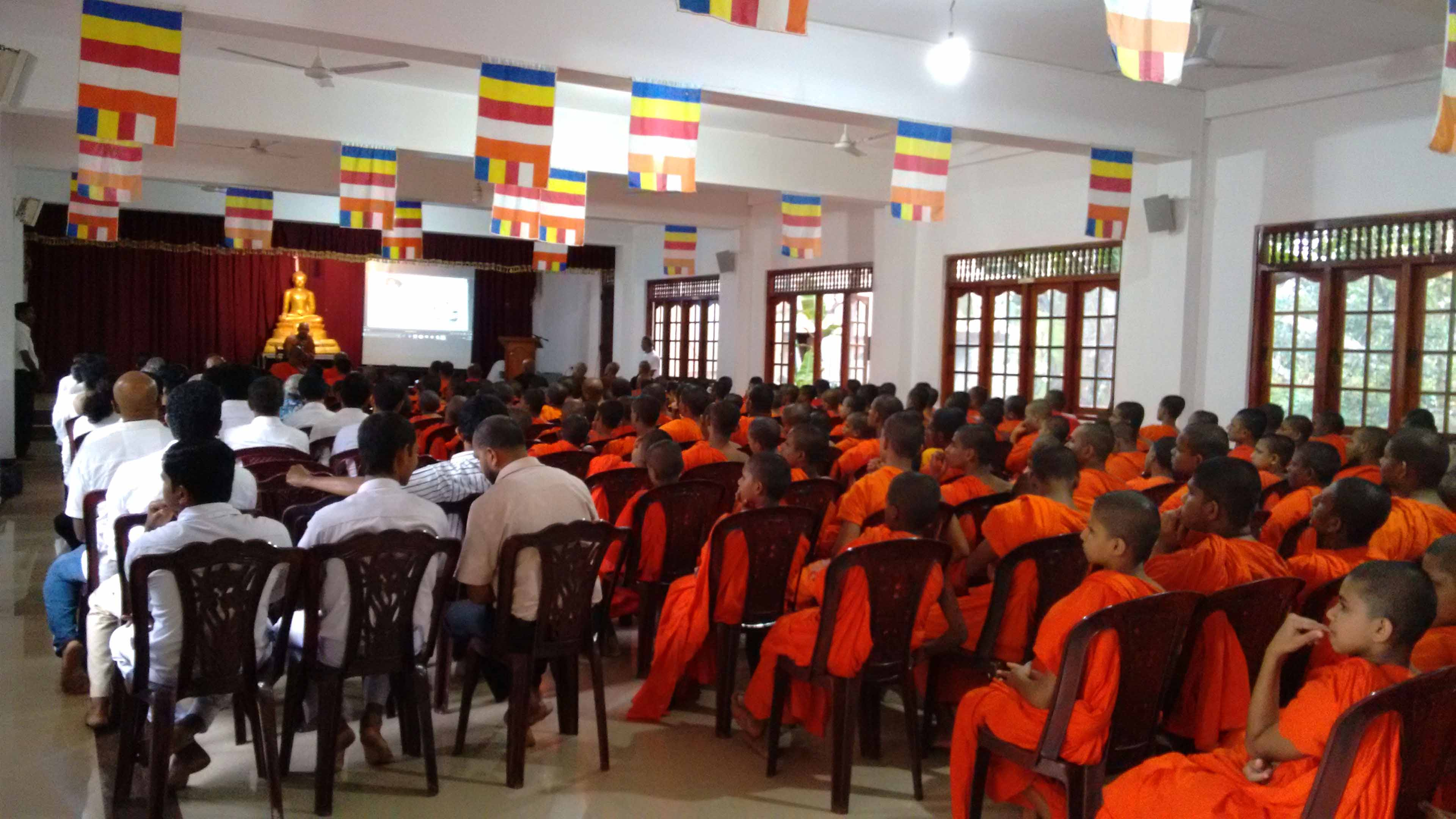 Sati Pirivena Introduction Programme at Mahavihara Maha Pirivena - Asgiriya, Kandy (1)