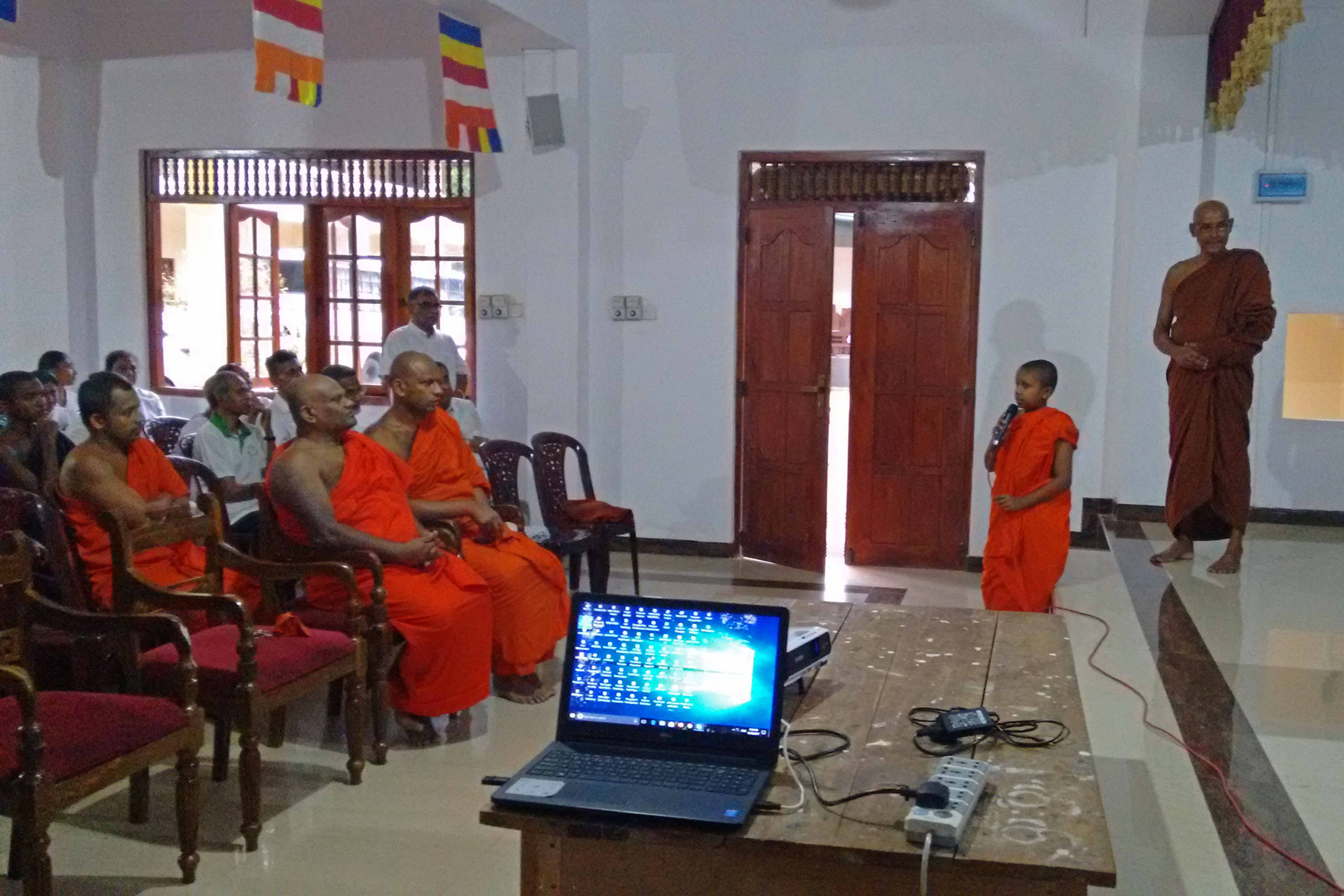 Sati Pirivena Introduction Programme at Mahavihara Maha Pirivena - Asgiriya, Kandy (12)