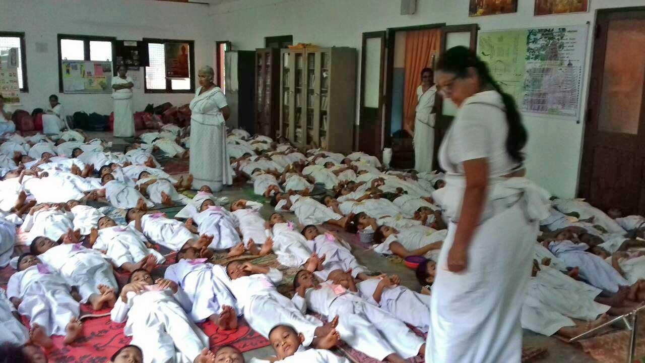 The Introduction of 'Sati Pasala' to the University Sarasavi Daham Pasala at Peradeniya University Viharaya. (5)